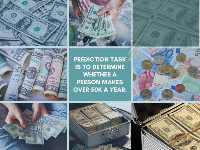 Prediction task is to determine whether a person makes over 50K a year Part 1