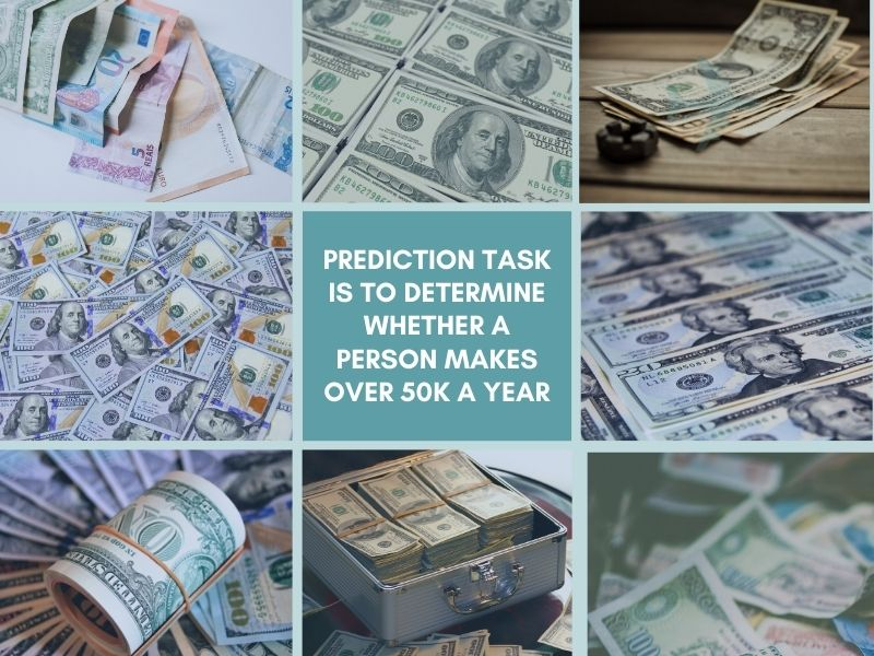 Prediction task is to determine whether a person makes over 50K a year Part 2