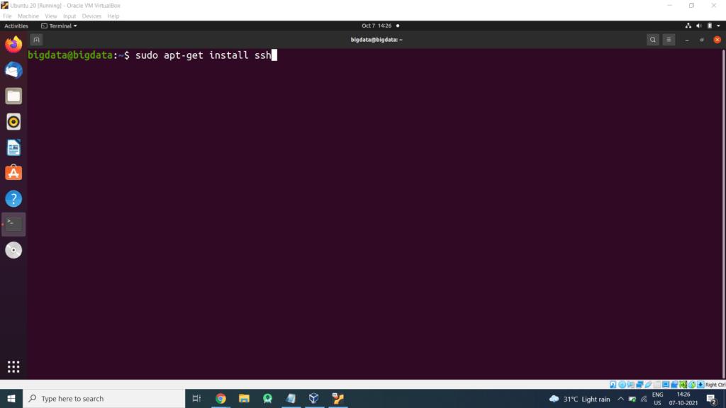 ssh install